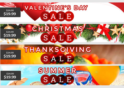 etsy sale banners