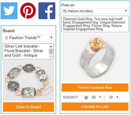 promote your etsy items on pinterest, facebook, twitter